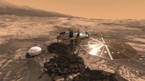 InSight-onMars-VR2Planets-VR2Mars
