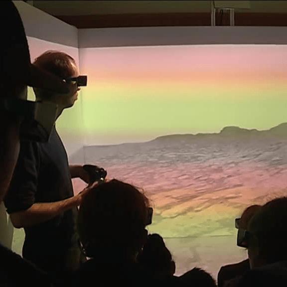 Réalité virtuelle CAVE 3D