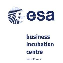 ESA-Business Incubation Center - Nord France- Logo