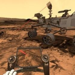 Laser ChemCam du Rover Curiosity sur Mars