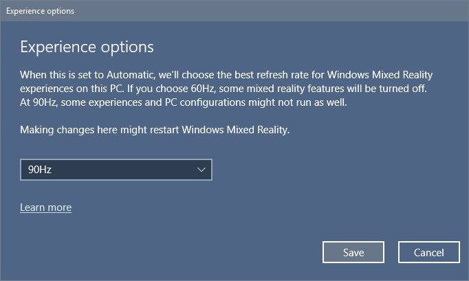 windows MR settings 2