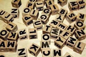 alfabet kralen