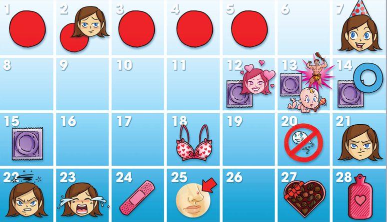 Цикл месячных: как считать, какая норма и сколько дней длится цикл месячных?