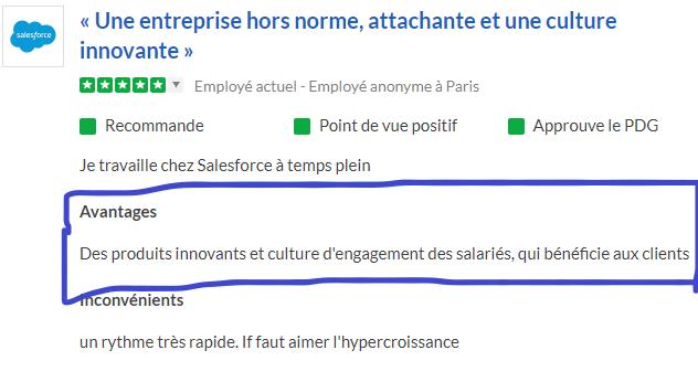 Culture de l'innovation à Salesforce