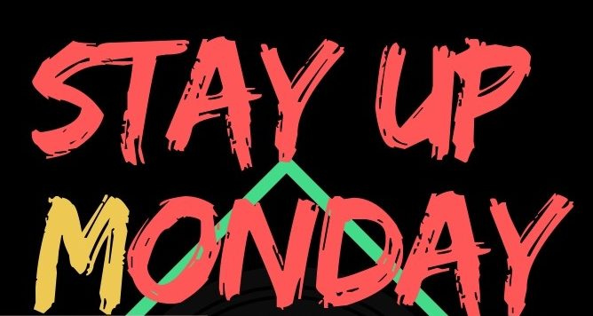 【1月14日】Stay up Monday