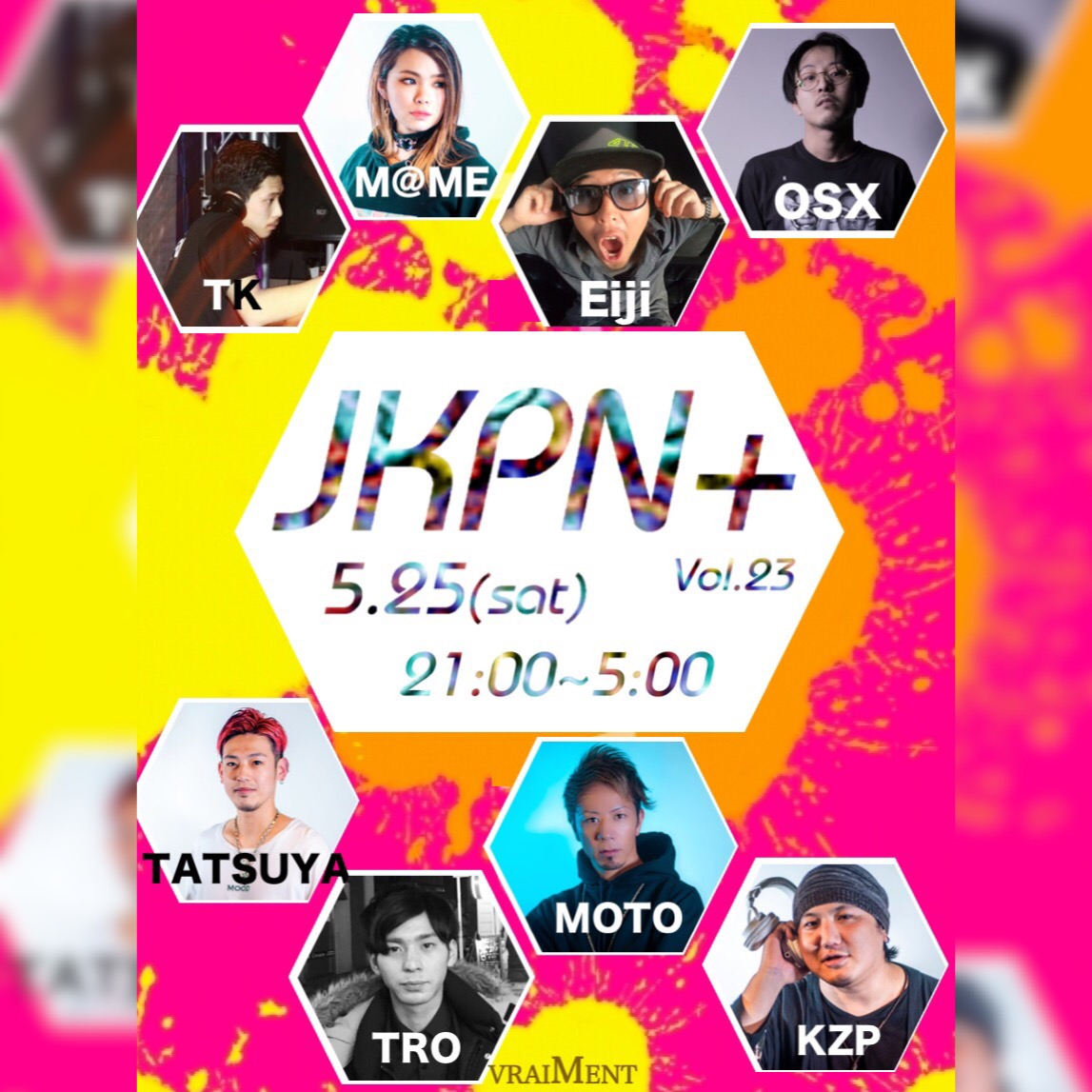 【5月25日】JKPN+ ~JAPAN KOREN PARTY NIGHT PLUS~
