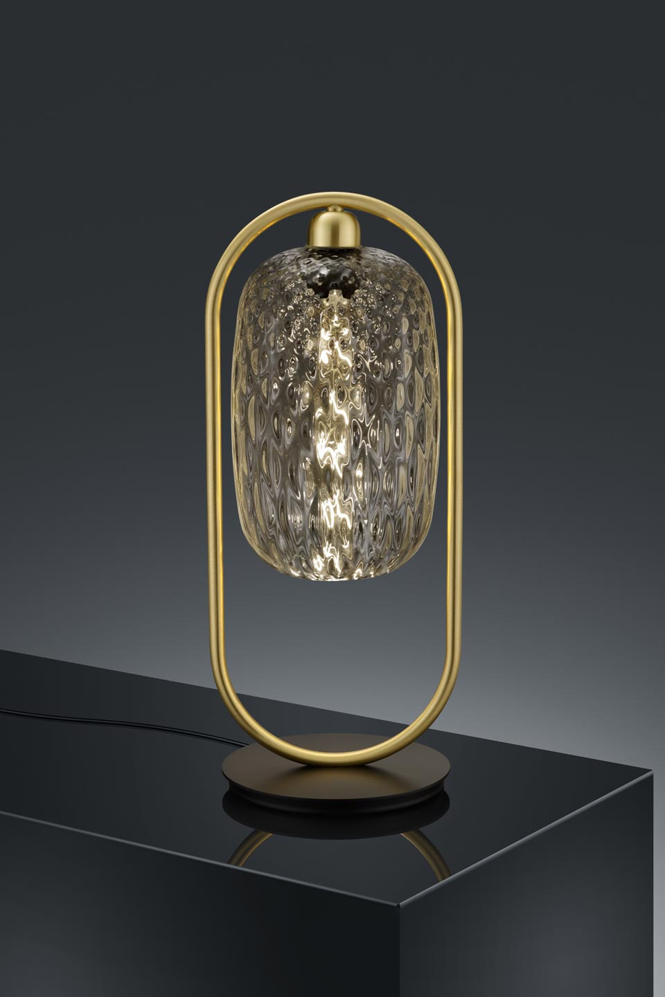 Leuchten Bilder Design Golden Table Lamp And Transparent Glass: Baulmann Leuchten Luxury Lightings Made In Germany - Réf. 19030126
