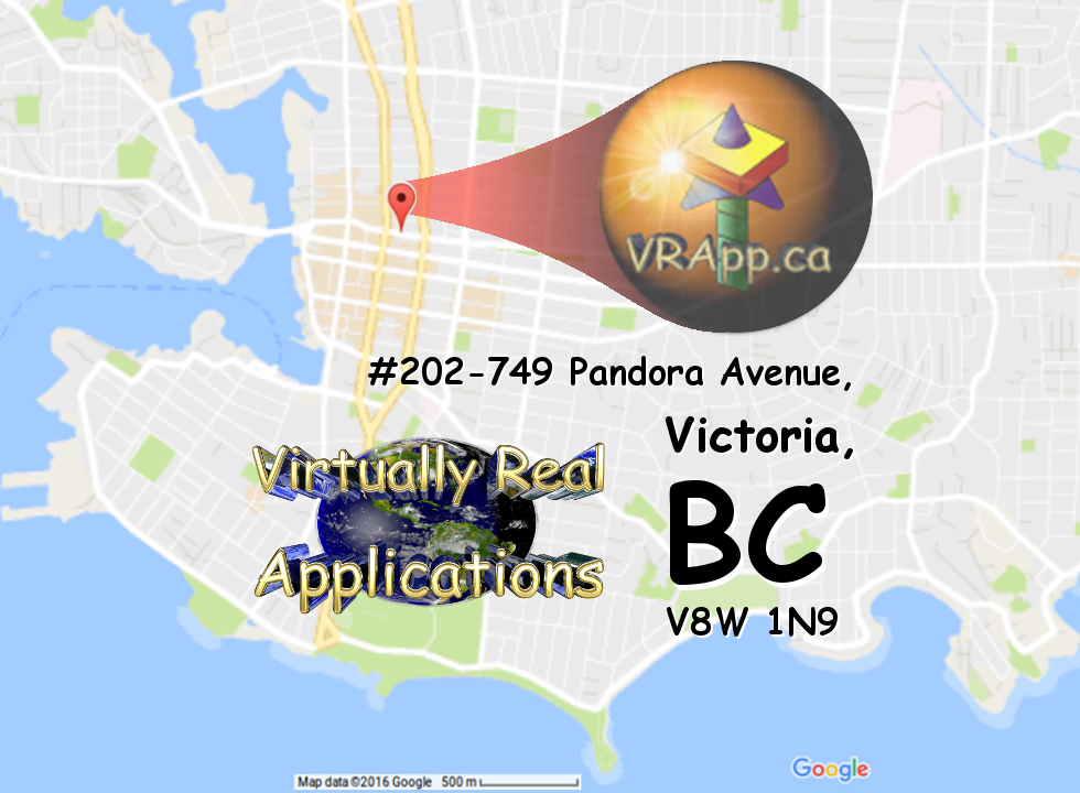 VRApp Google Map