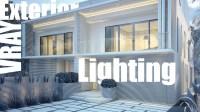 VRay Exterior Lighting & Rendering - Video Tutorial