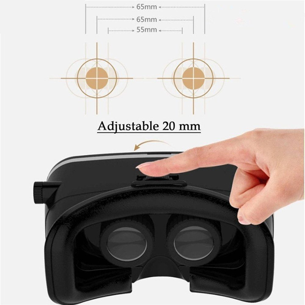Mogoo 3D VR Headset Glasses Lenses