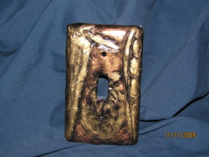 Light switch cover - sold