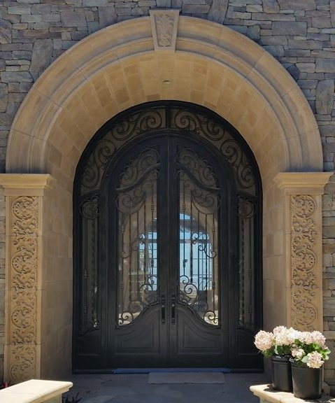 Double door main entry Rancho Cielo