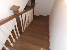 Scara lemn interioara stejar