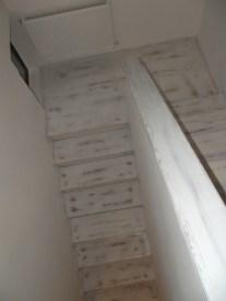 Scara lemn stejar antic Bucuresti