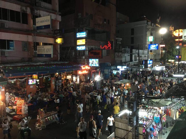 """Улица Каосан, где можно """"купить паспорт, продать паспорт"""""""