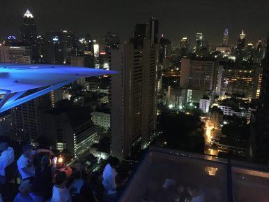 Бар на крыше Above Eleven