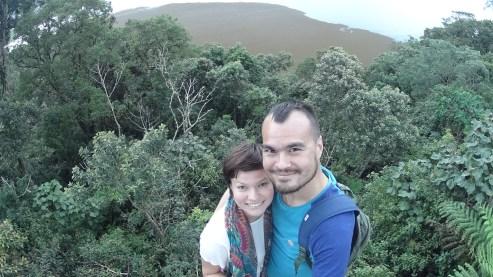 Озеро Буян и лес под нами