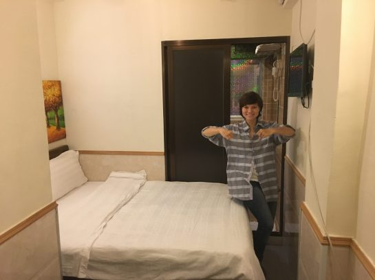 Наш номер в Гонконге, 15 м2