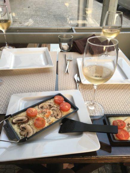 Raclette & Wine