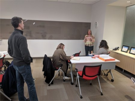 Process Mapping Session at a B.E. Organizational Change Leadership Certification Program
