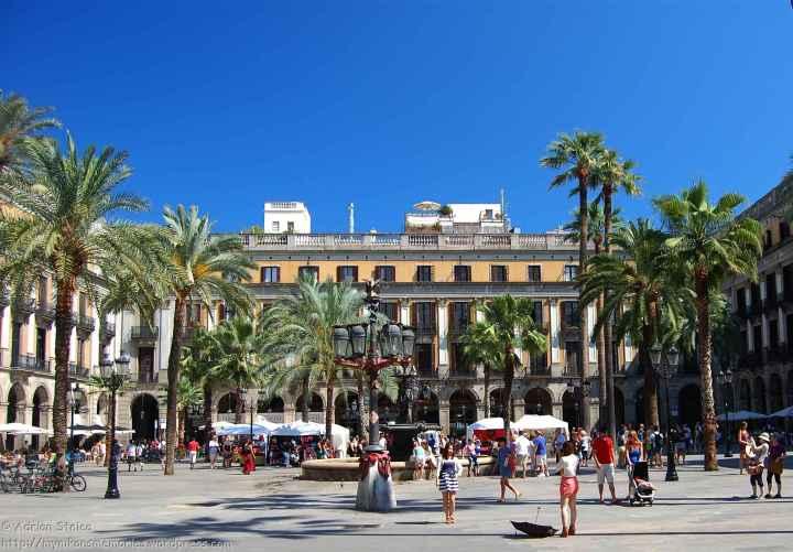 Plaça Reial Barcelona 2