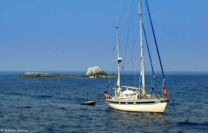 In jurul insulei Paxos