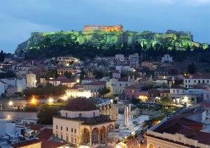 Monastiraki si Acropola