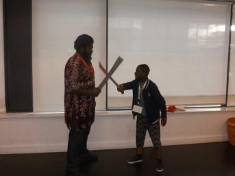 """MuZikTalk Blogger with the main act """"Okonkwo"""""""