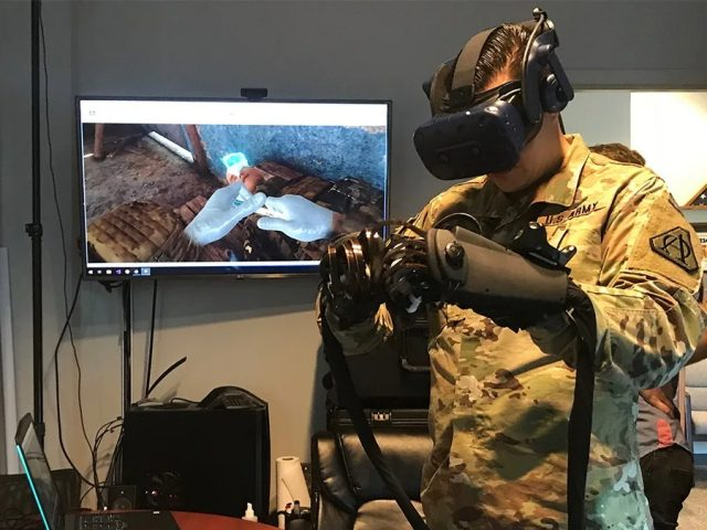 Military Contractor ECS Awarded Grant to Build VR Army Medic Trainer with Advanced Haptics - VR Headset Reviews