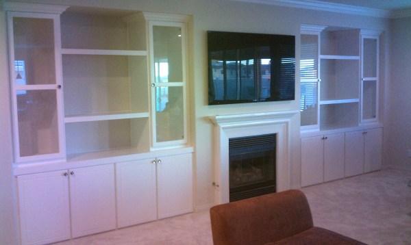 Cabinets Custom Built Entertainment Centers