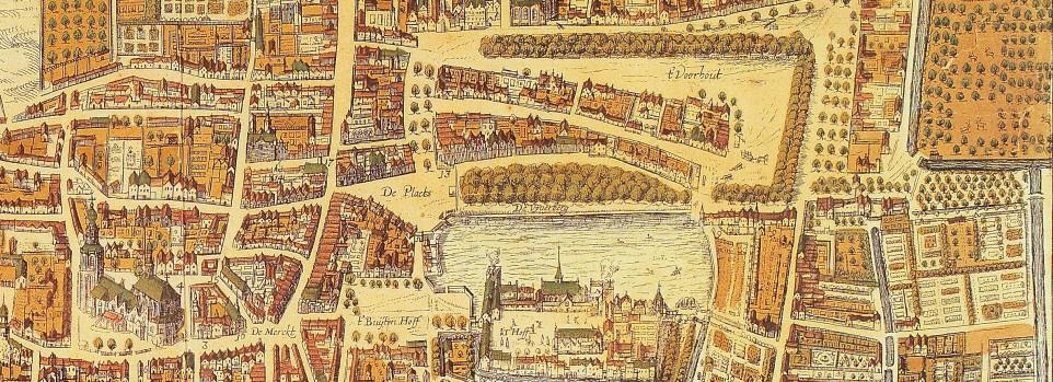Lange Voorhout in de 17e eeuw
