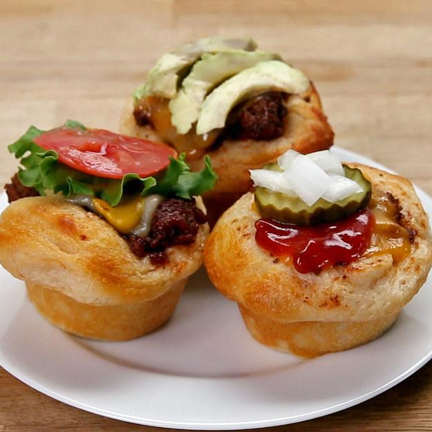 Hamburgerhapjes