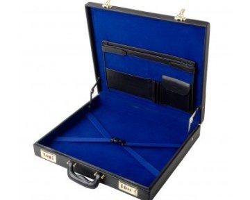Koffer naamplaatje gala rokkostuum Blauwe Graden Dutch nederlandse regalia maçonniek Vrijmetselarij Vrijmetselaarswinkel Loge Benelux