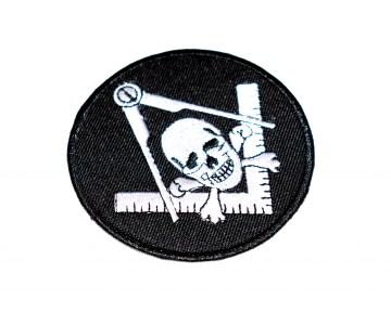 Badge Patch Widows Sons Blauwe Graden Dutch nederlandse regalia maçonniek Vrijmetselarij Vrijmetselaarswinkel Loge Benelux