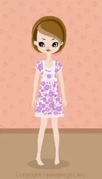 Flower cute dress / pr09D