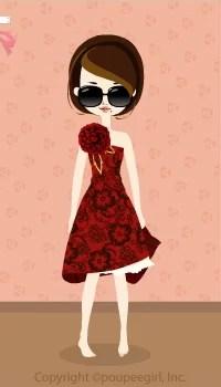 Asymmetry dress / rd09K