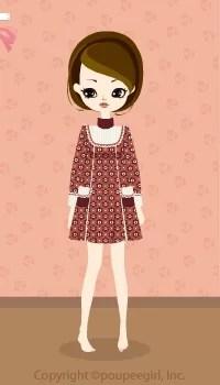 Flower dot dress / rd09KJ
