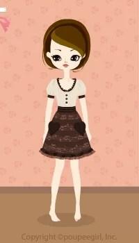 Heart note dress / br09J