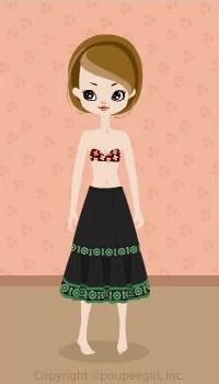 Long skirt / gn09C
