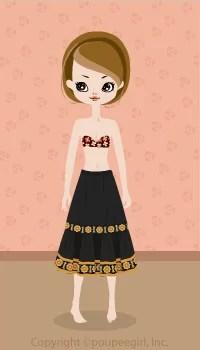 Long skirt / yw09C