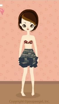 Asymmetric Skirt / Gr09L