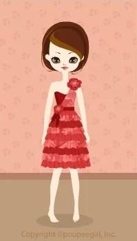Girly dress / rd09C