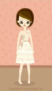 Girly dress / bg09C