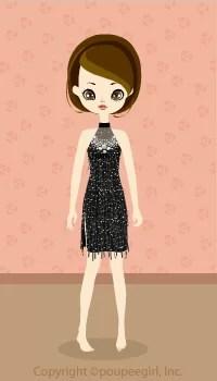 Cool dress / bk09C