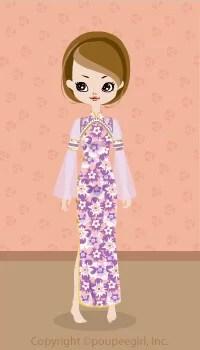 Gorgeous China Dress / Pr09C