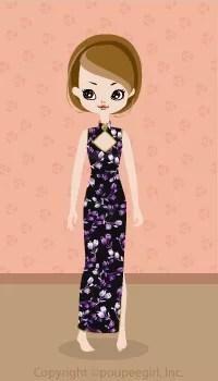 Sexy China Dress / Bk09C