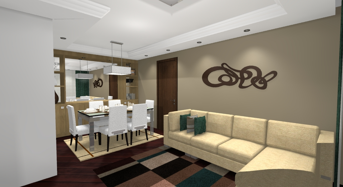 Projeto Interiores  Reforma Apartamento Bacacheri  TMM