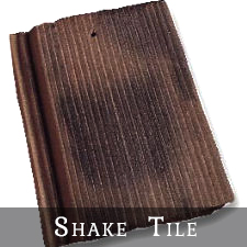 handcrafted concrete roof tiles