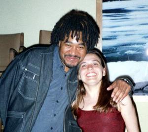 Vanessa with James Genus, Banff International Jazz Workshop, Banff AB, 2003