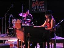Vanessa & Jean-Pierre Levesque; Atlantic Jazz Festival 2006